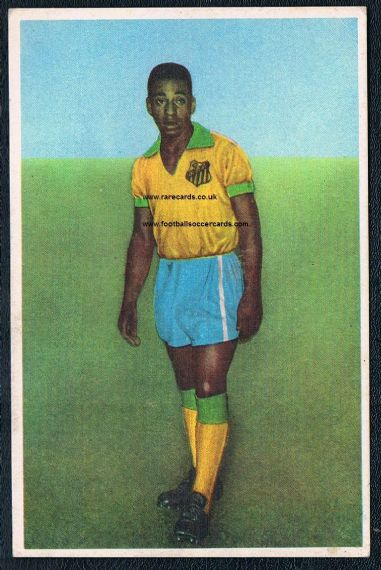 1963 Nannina trade card pc Pele